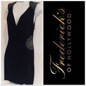 Fredricks Of Hollywood. Black Cocktail Dress